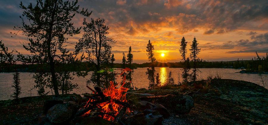 Hidden Lake Sunsets