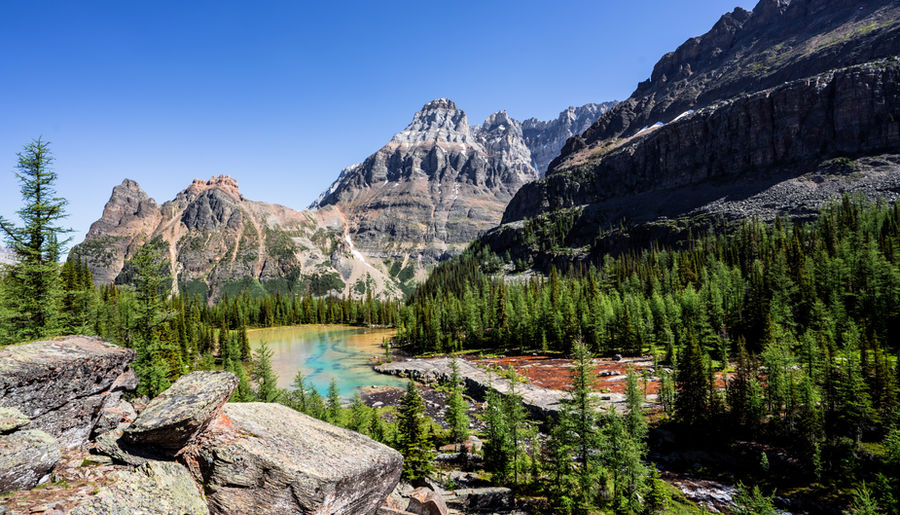 Remote Mountain Views