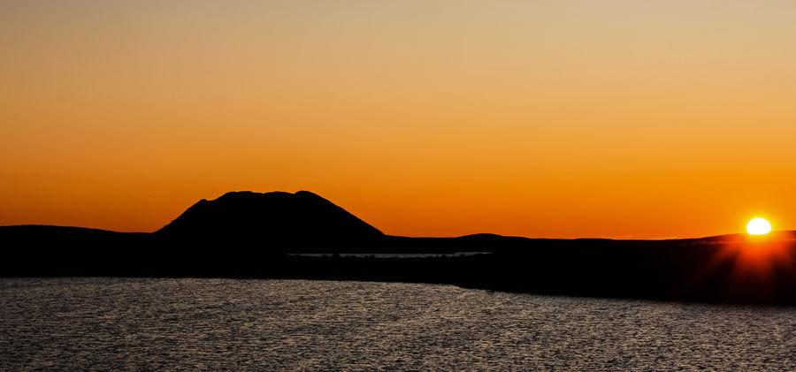 Ibyuk Pingo Sunset