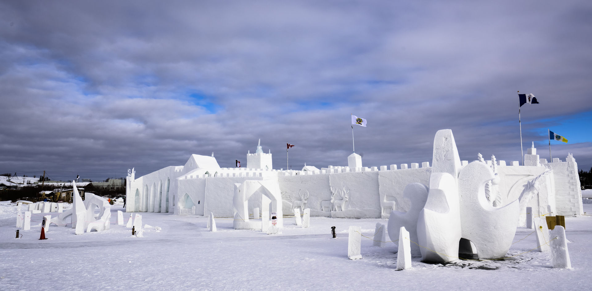 Yellowknife Ice Castle