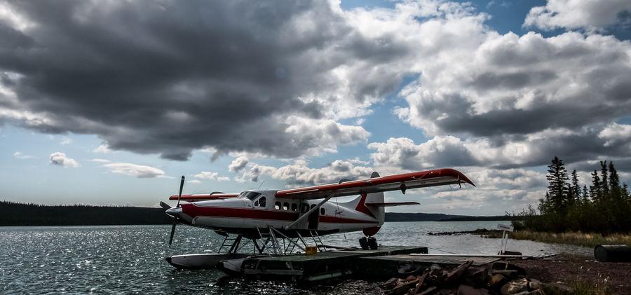 Float Plane at Fishing Lodge