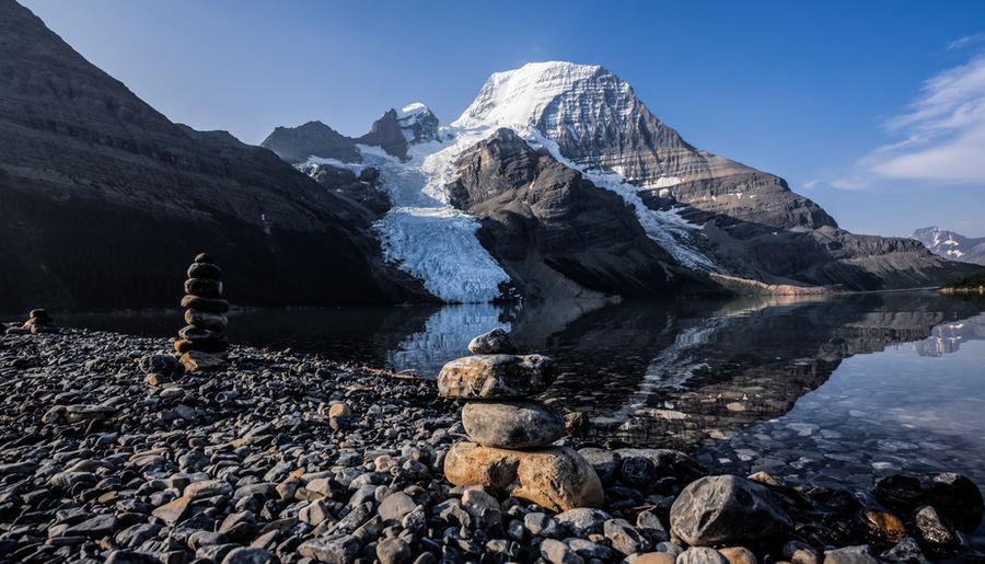 Mount Robson Inuksuks