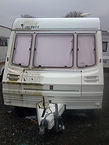 valeting touring caravan