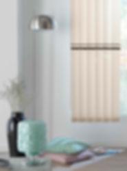 Cortinas de lamas verticales 89mm | Madrid | Cortistor