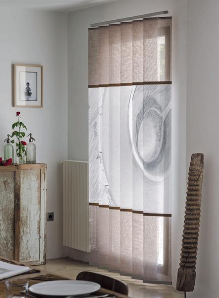 Personaliza tus cortinas de lamas verticales   Madrid   Cortistor