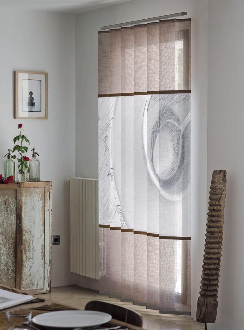 Personaliza tus cortinas de lamas verticales | Madrid | Cortistor