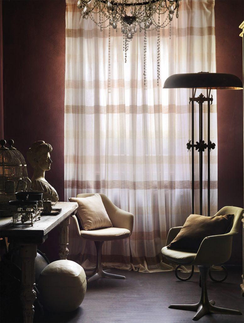 Cortinas de salón elegantes   Madrid   Cortistor
