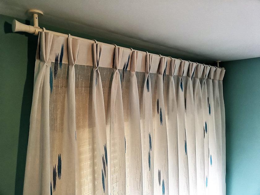 Confección de cortinas triple pliegue   Madrid   Cortistor   Tienda de cortinas a medida en Madrid   Confección de cortinas a medida en Madrid   Cortinas triple pliegue