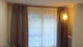 Confección de cortinas a medida para salón Cortistor