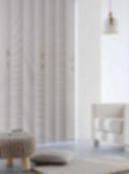 Cortinas de lamas verticales 127mm | Madrid | Cortistor