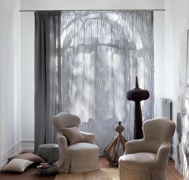 Cortinas para sala de estar   Madrid   Cortistor