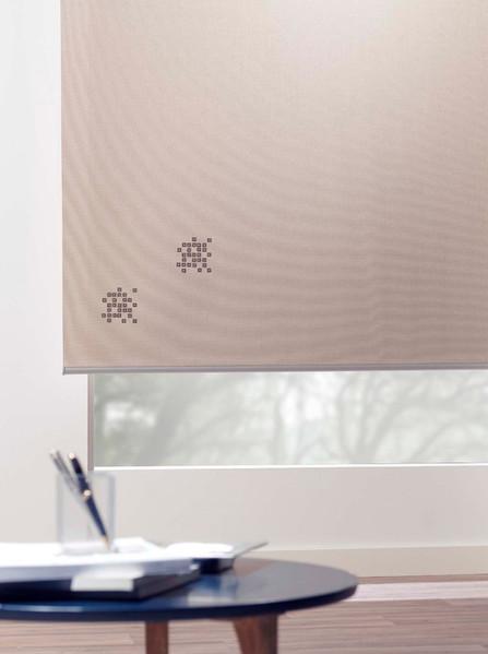 Estores enrollables con incrustación de cristales swarovski | Madrid | Cortistor