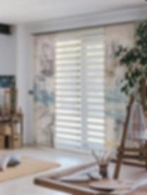 Cortinas tipo panel japones | Madrid | Cortistor