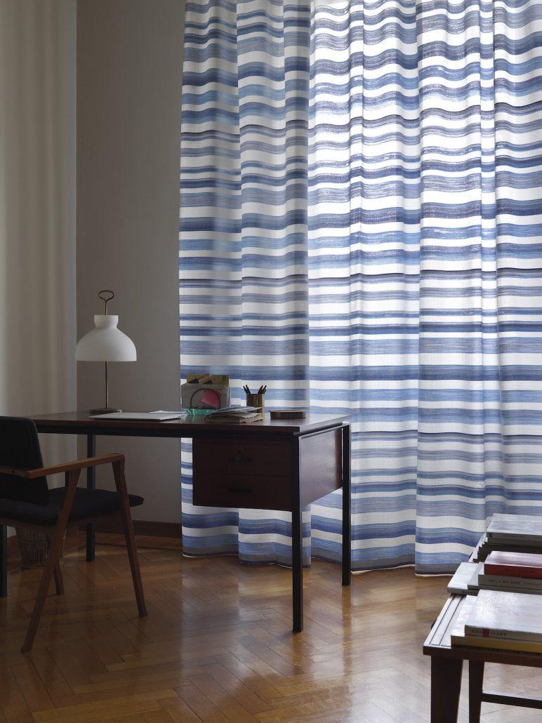 Cortinas con rayas horizontales   Madrid   Cortistor