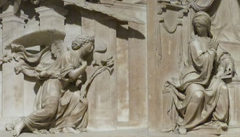 Sainte Maison, Annonciation selon Bramante