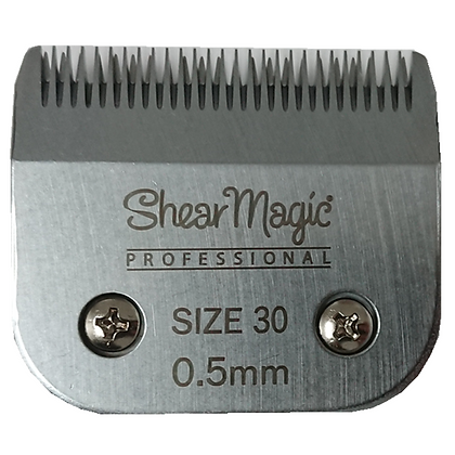 OSTER Shear Magic Steel Detachable Blade Size 30, 0.5mm