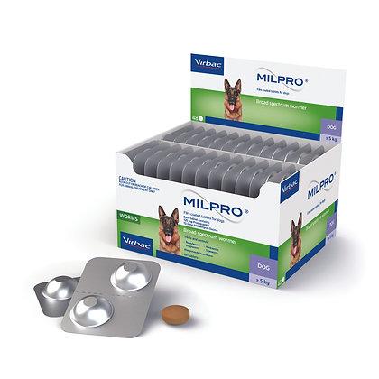 MILPRO DOG 5-25KG TABS 48PACK
