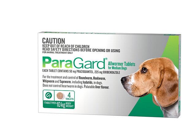 PARAGARD MEDIUM DOG 4pack 5-10KG