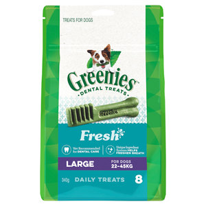 GREENIES FRESH LARGE 340G