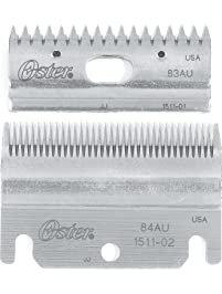 OSTER CLIPPER BLADE SET TOP & BOTTOM 83AU + 84AU
