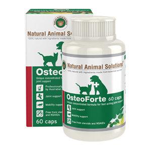 NATURAL ANIMAL SOLUTIONS NAS OSTEOFORTE 60 CAPS