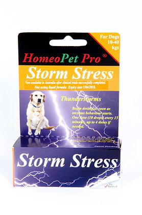HomeoPet Storm Stress 10- 40kg And Over For Dogs 15ml