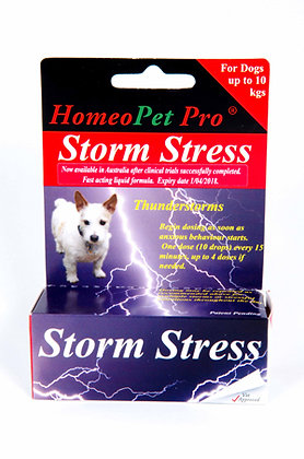 HomeoPet Storm Stress 2-10kg And Over For Dogs 15ml