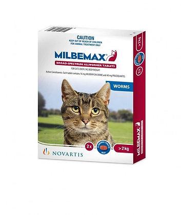 MILBEMAX TASTY LGE CAT 20 PACK 2KG+