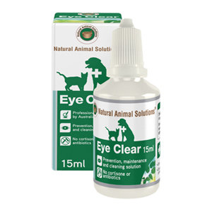 NATURAL ANIMAL SOLUTIONS NAS EYE CLEAR 15ML