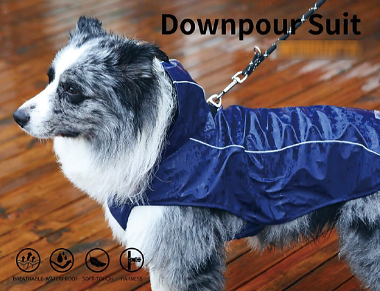 Downpour Suit Harness Raincoat