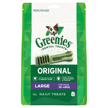GREENIES LARGE 8 treats