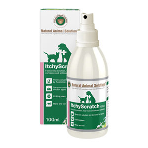 NATURAL ANIMAL SOLUTIONS NAS ITCHYSCRATCH 100ML