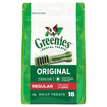 GREENIES REGULAR 18 treats