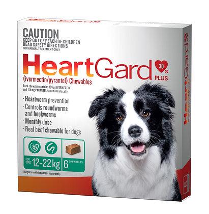 HEARTGARD PLUS GREEN 6pack  12-22KG