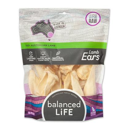 Balanced Life Australian Natural Grain Free Lamb Ears Dog Treat - 16 pieces