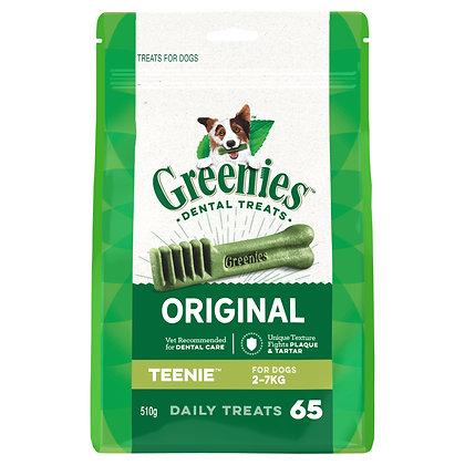 GREENIES TEENIE 2-7kg 65 treats