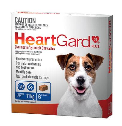 HEARTGARD PLUS BLUE 6pack 0-11KG