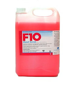 F10 HANDSCRUB 5L PLEASE SEND ORDER ENQUIRY, THANK YOU.