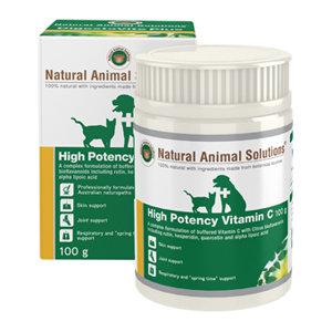 NATURAL ANIMAL SOLUTIONS NAS HIGH POTENCY VITA C 100G