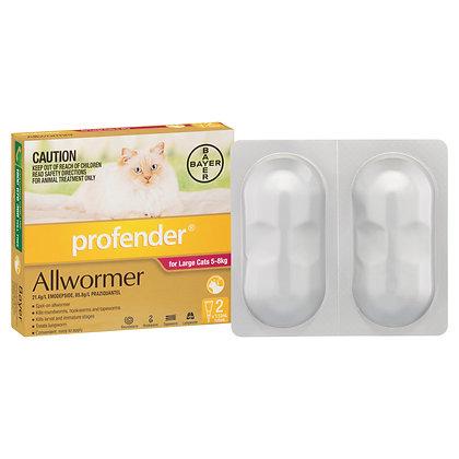 PROFENDER CAT 5-8KG 2 pack