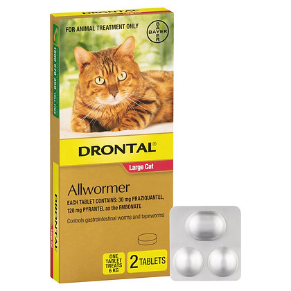 DRONTAL ELLIPSOID CAT 6KG 2pack