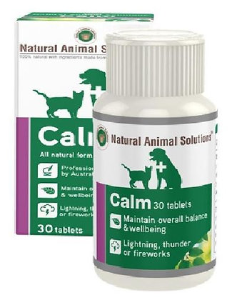 NATURAL ANIMAL SOLUTIONS NAS CALM 30 TABLETS