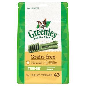GREENIES GRAIN FREE TEENIE 43 TREATS