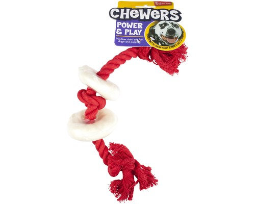 Yours Droolly  RAWHIDE RINGS 25CM