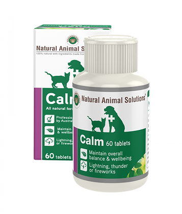 NATURAL ANIMAL SOLUTIONS NAS CALM 60 TABLETS