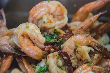 Mezcal Shrimp