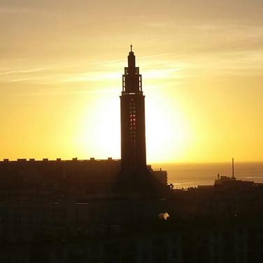 Le Havre :  St Joseph church