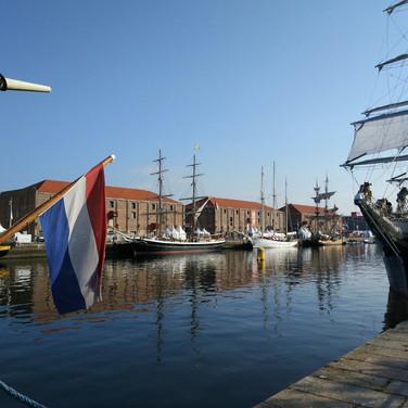 Le Havre : the docks