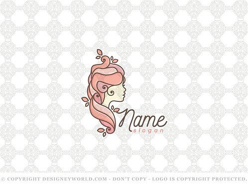 Sweet Cupcake Lady Logo