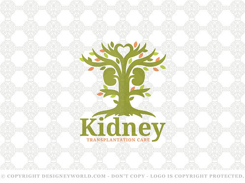 Kidney Transplantation Tree Care Logo